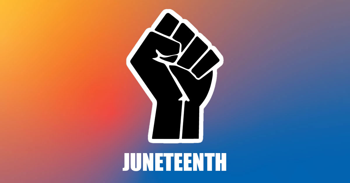 Solidarity fist, Juneteenth