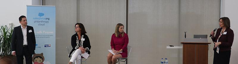 Panel at Philanthropy Cloud Event